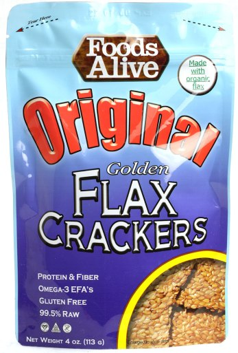 FLAX CRACKERS -EVERY SINGLE DAY!